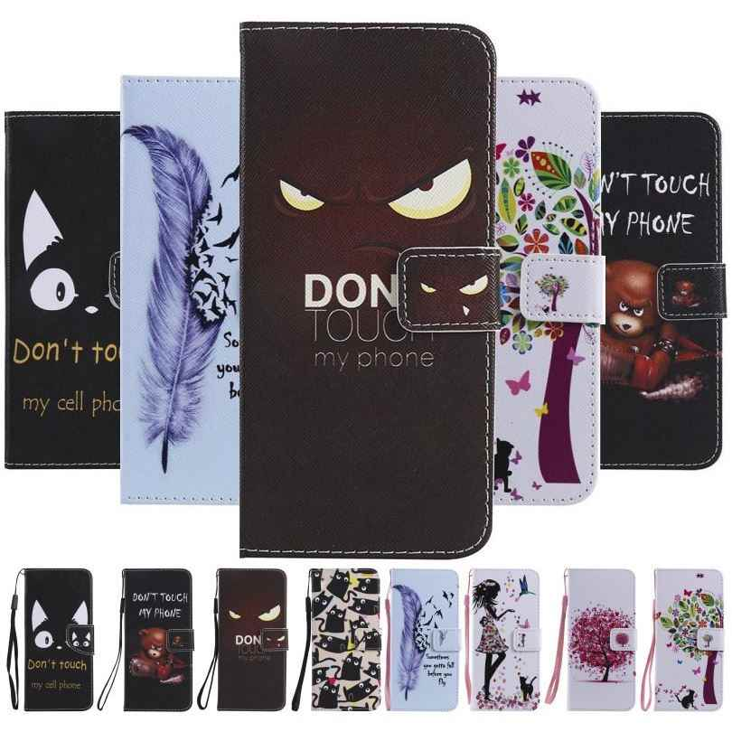Retro Flip Case For Samsung Galaxy S10E S10 5G S9 S8 Plus S7 S6 Edge S5 S4 Mini Book Style Magnet Lock Wallet Stand Coque DP06F