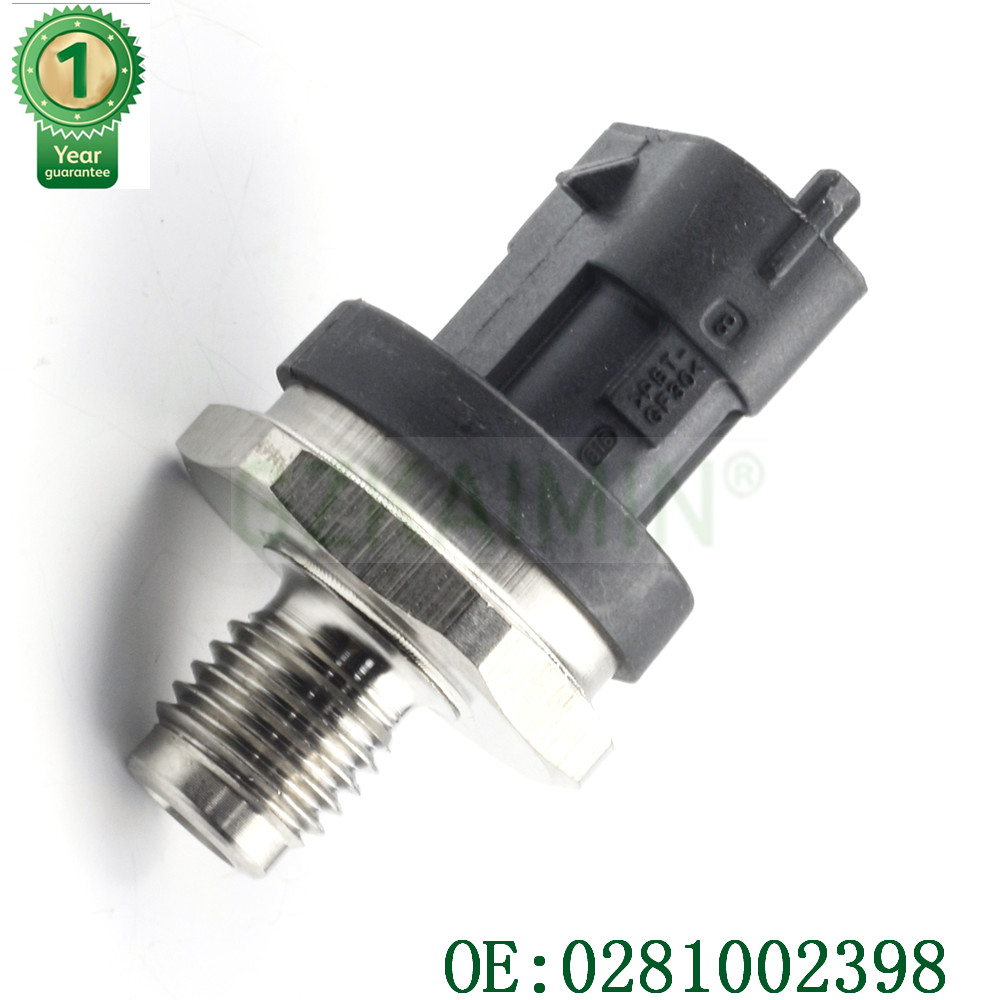 NEW Common Rail Fuel High Pressure Sensor For IVECO MAN LDV CUMMINS VOLVO DEUTZ KHD DAF CASE ALPINA VM 0281002398 0281 002 398 image
