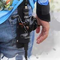 Tsurinoya porte-canne à pêche Portable pour Blet 26 cm/8 cm 65g porte-moulinet porte-canne à pêche porte-matériel de pêche sac de rangement