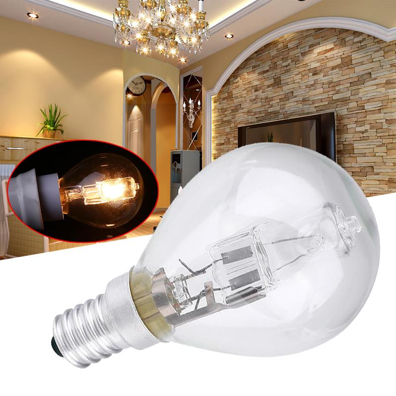 Light Bulb G45 G45 Halogen Lamp E14 Household Home &Amp; Living Energy Saving Lighting Indoor Durable Supplies