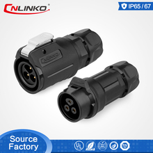 Hot Selling M16 Connector Top Quality PBT Material Waterproof 3 Pin Electrical