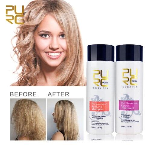 Professional Keratin Hair Repair Treatment 5% Hair Straightener Clarifying Shampoo for Open Cuticle Supple Smooth Hair Care Pakistan