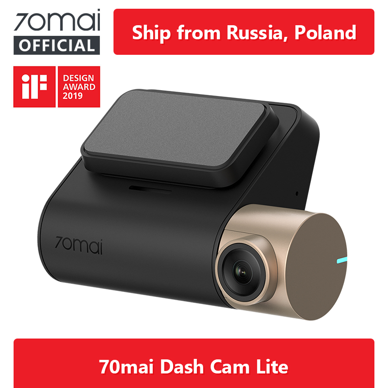 70MAI Car DVR Cam-Lite Parking-Monitor Wifi Speed-Function Night-Vision 1080P 24H GPS