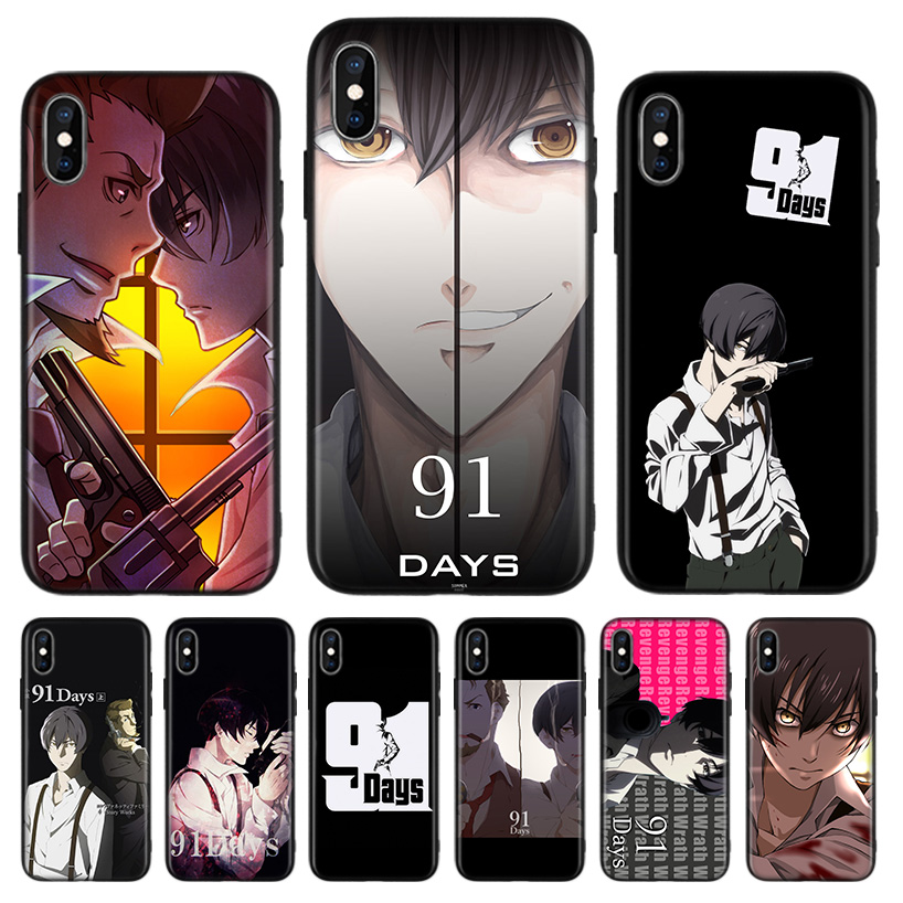 <font><b>91</b></font> <font><b>Days</b></font> Black Back Cover Phone Case For Apple IPhone 11 Pro XS MAX XR 7 8 6 6S Plus X 10 Ten 5 5S SE Coque Shell image