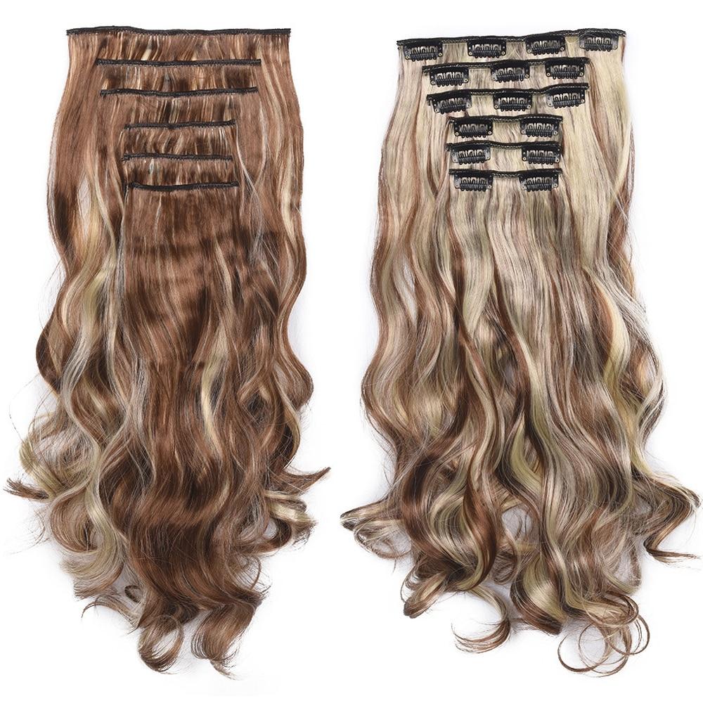 longo grampo em extensão do cabelo resistente