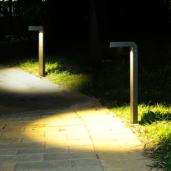 Thrisdar 60CM Outdoor Garden Street Light Modern Courtyard Villa Park Landscape Post Lawn Light Waterproof Pathway Bollard Light