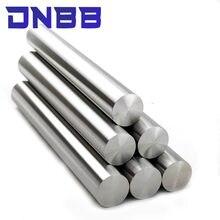 Arbre linéaire chromé pour imprimante 3d, 2 pièces, 6mm 8mm 10mm 12mm 16mm, tige linéaire, pièces trempées de 100 à 595mm