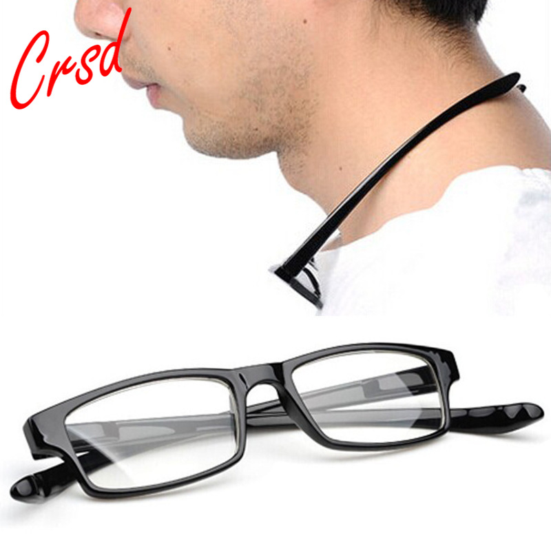 New Hanging Neck Reading Glasses Comfortable Ultra-Light Spring Legs Anti-Fatigue Presbyopia Glasses + 1.0 To + 4.0