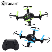 Eachine E009 YW RC Quadcopter Mini Drone 2.4G Remote Control Helicopter Racing Little Blue/Green Fat USB Charging LED Dron Toys