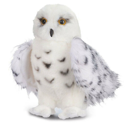 Cute Wizard SNOWY OWL Plush Toy Stuffed Animal Hedwig Potter Owl 8-12'' Lovely Birthday Gifts PPT Cotton