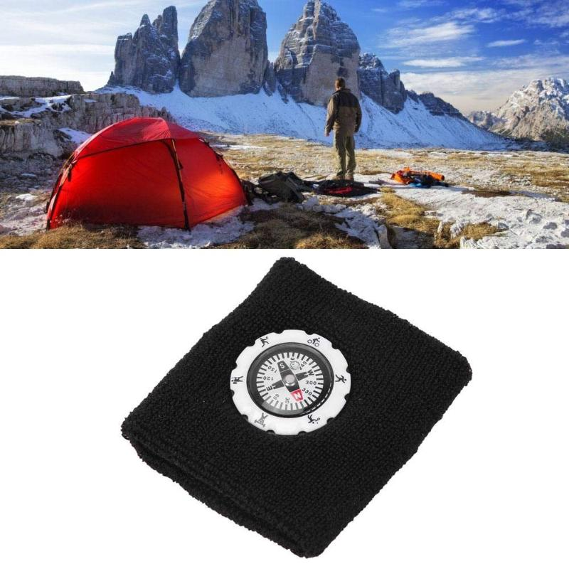 Durable Compass Fashion Sweat Band / Survival Wristband Bracelet for Outdoor Camping/Hunting/Hiking 3