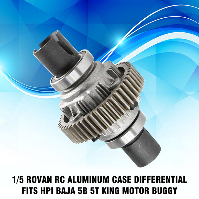 1/5 Rovan RC Aluminum Case Differential Fits for HPI Baja 5B 5T King Motor Buggy RC Car Toy Assemblage Parts