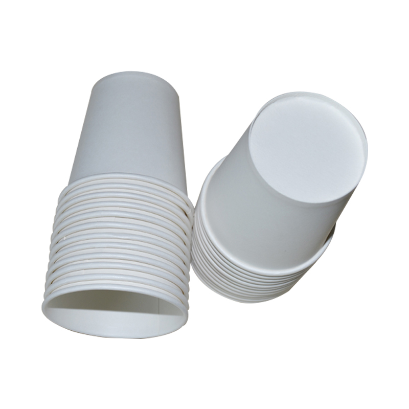 100pcs Disposable Paper Cups White Paper Cup Tea Coffee Drinking Water Cup Painting Handmade 8Ounce 200ML