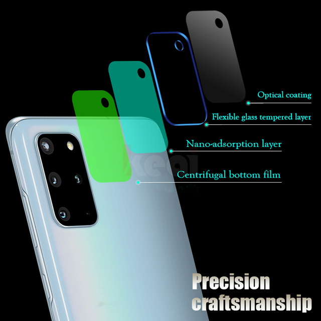 Camera Screen Protector For Samsung Galaxy S20 Ultra FE S21 S10E S10 S8 S9 Plus Lens Film A51 A71 A20 A50 A70 A52 Tempered Glass 4