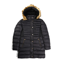 Women Winter Coat Long Hooded Thicken Basic Female Plus Velvet Coats Cotton Outwear Size Clothes