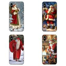 Santa Claus For Xiaomi Redmi Note 3 3S 4 4A 4X 5 5A 6 6A 7 7A K20 Plus Pro S2 Y2 Y3 On Sale(China)