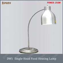 DW1/DW2 electric food heating lamp stainless steel food lamp for restaurant tabletop food heat lamp food warmer lamp цена
