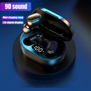 Wireless headphones Bluetooth 5.0 earphones Touch Control Bluetooth Headphones Bass Stereo Waterproof Earbuds With Microphone
