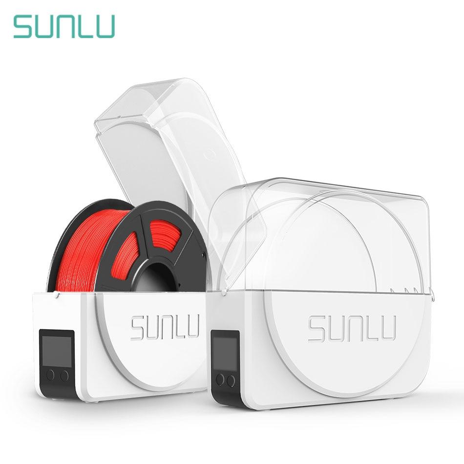 Sunlu 3d filamento secador manter filamento caixa de armazenamento seco impressora 3d bom parneter filadriter s1