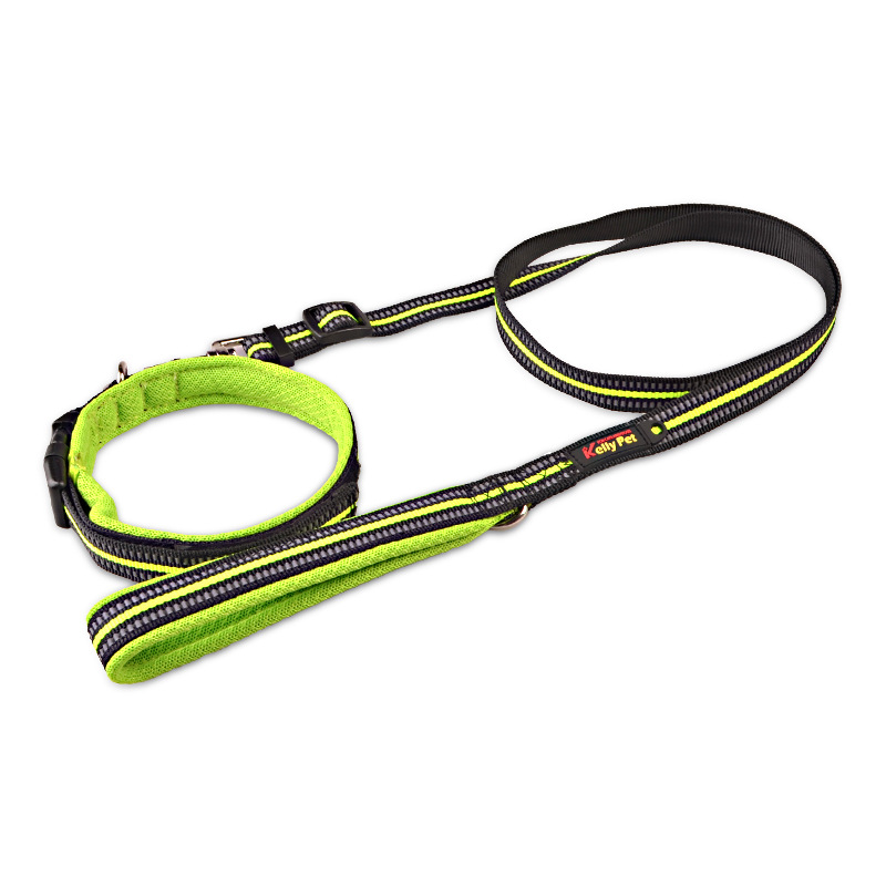 Pet Supplies Pet Collar Comfortable Dog Neck Ring Velcro Adjustable Reflective Neck Ring