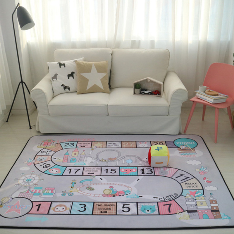 Suitable For All season Thicken Living Room Decoration Cushion Child Non-slip Crawling Rug Baby Climbing Game Carpet Wisdom pad