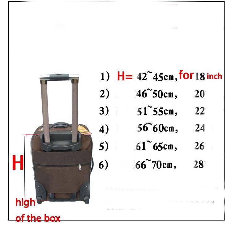 acessórios pano bagagem do trole caixa mala