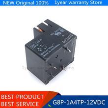 (10Pcs) G8P 1A4TP 12V Originele Merk Nieuwe G8P 1A4TP DC12V 30A Normaal Open Een Uit De