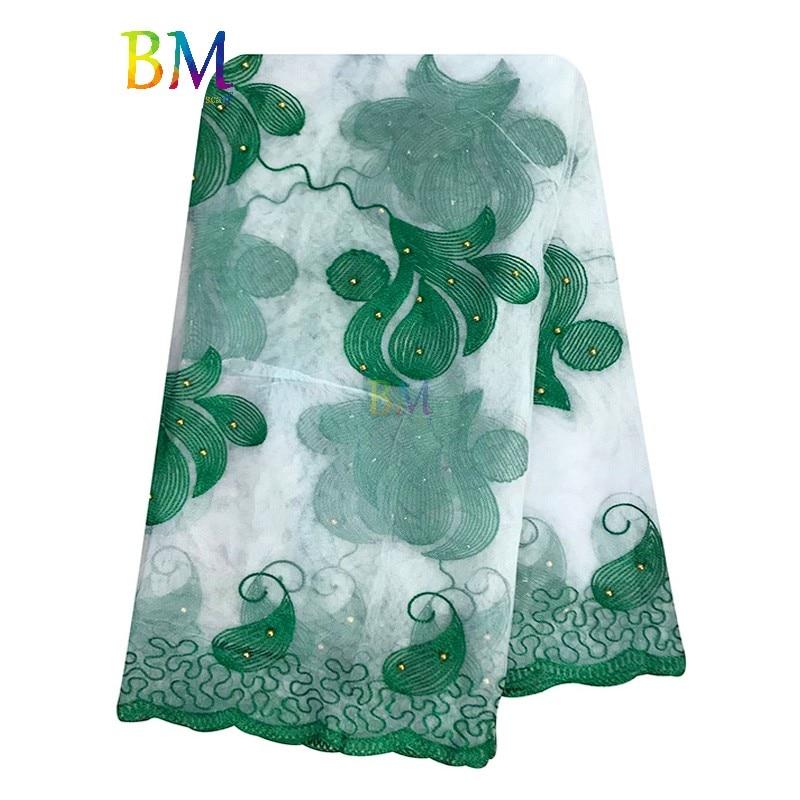 High Quality Women Scarfs Muslim Embroidered Net Scarf Transparent Scarf Design Scarf For Shawls  BX50