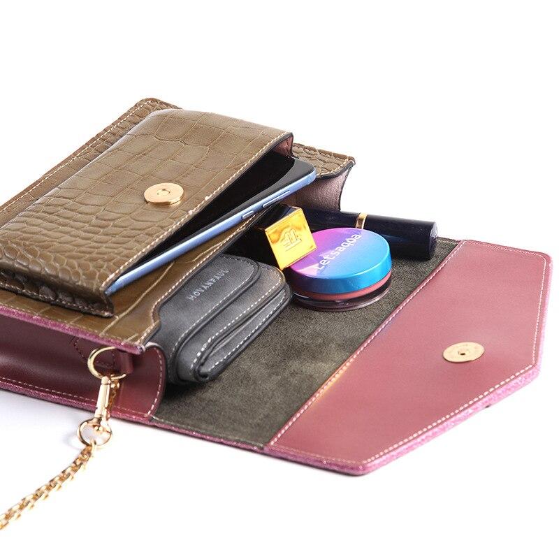 Luxury Handbags High Quality Leather Women Bags Designer Crossbody Bags Women small Shoulder Bag Crocodile pattern Messenger Bag
