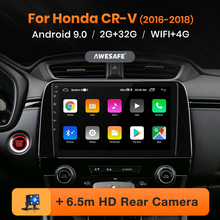 AWESAFE PX9 Car Radio for Honda CRV 5 CR-V 2016-2018 Multimedia Player 2 Din Android