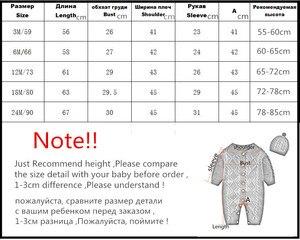 Image 5 - Orangemom moda örgü tulum + kapaklar kızlar bebek noel giysileri unisex yeni yıl hediye yenidoğan erkek bebek romper twins