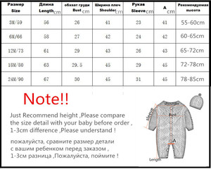 Image 5 - orangemom fashion knitting jumpsuit + caps for girls baby christmas clothes unisex new year gift newborn baby boy romper twins