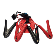 Extension-Cord Jumper Power-Cable Battery Copper-Wire Car JKM with 20a-Fuse-Holder Alligator-Clip