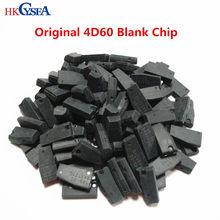 Hkcysea 10 pces original 4d60 carbono/vidro tp06/19 auto chave do carro transponder chip id60 40/80bit para ford, 4d chip em branco