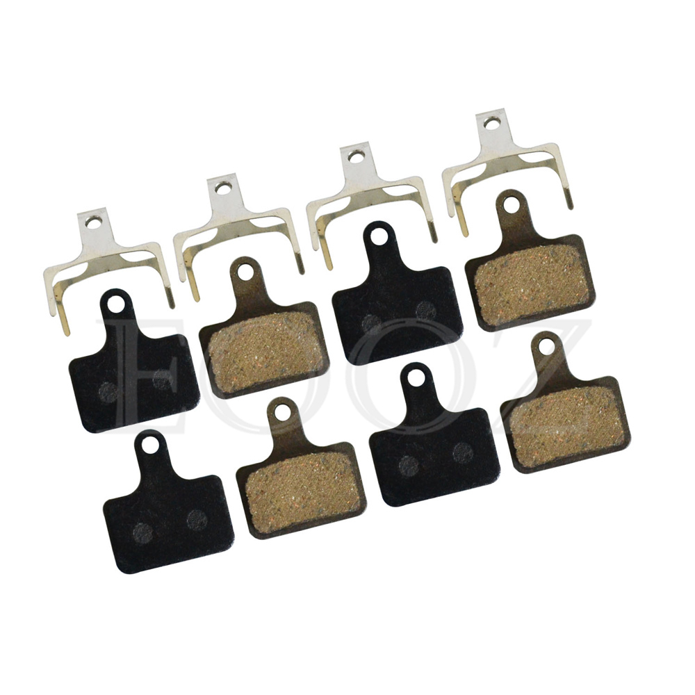 4 Pairs Semi - Metallic bicycle DISC BRAKE PADS for SHIMANO Ultegra R9170 R8070 R7070 RS805 RS505 RS405 RS305 / K02S REPLACEMENT