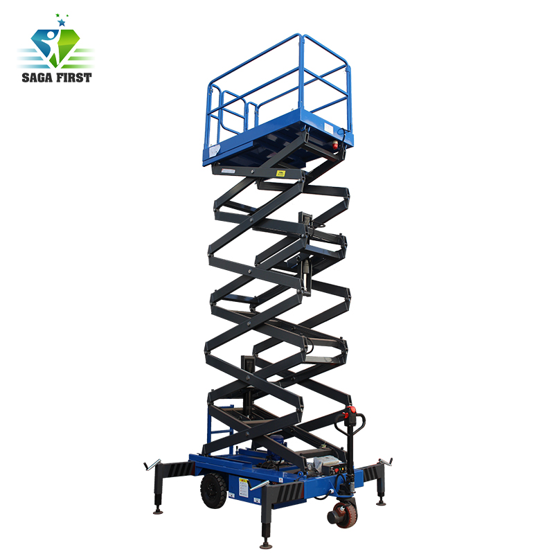 Hydraulic Scissor Platform Trailing Scissor Lift Table With CE ISO