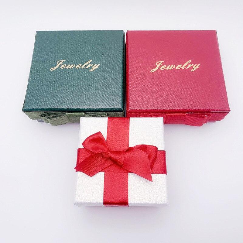 Single Shot Is Not Shipped Korean-style Silver Jewlery Box Gift Box Flannelette Bag Baby Bracelet Box Er Shi He Ring Box