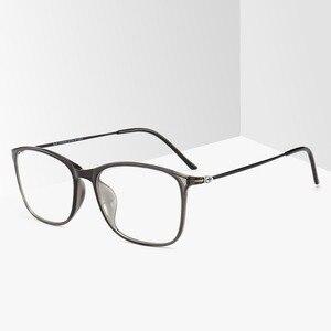 Image 5 - BCLEAR модная оправа для очков TR90 для мужчин и женщин, ультралегкие квадратные простые очки унисекс, Мужская оптическая оправа, очки, Лидер продаж