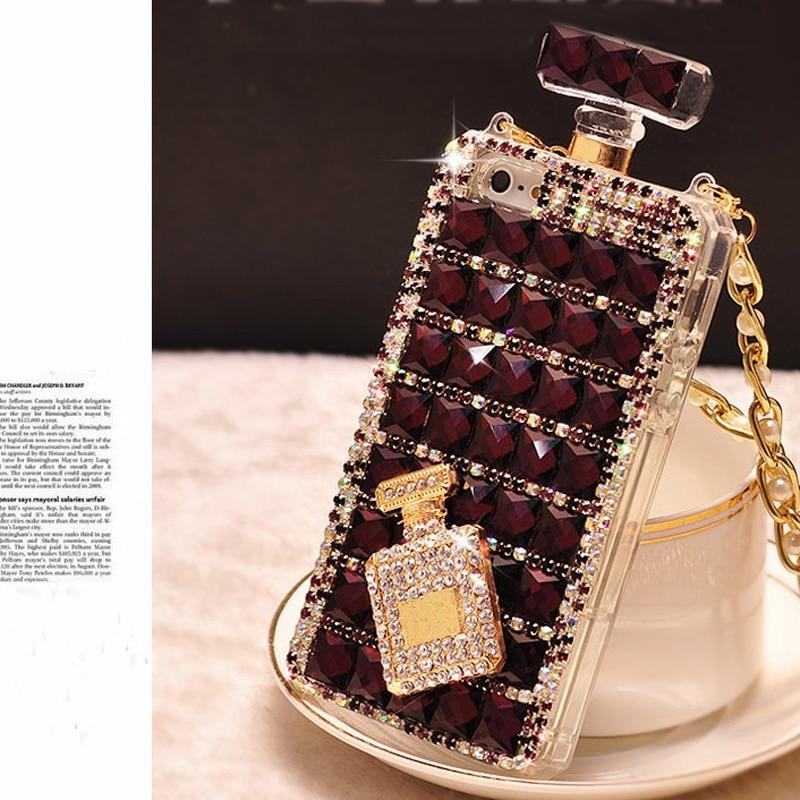 Luxury 3D Diamond Case TPU Rhinestone Bling Cover Diamante Coque Capa - Բջջային հեռախոսի պարագաներ և պահեստամասեր - Լուսանկար 2