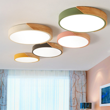 Dimmable Led Ceiling Lights 5cm Ultra Thin Modern Ceiling Lamp Nordic Living Room Lights Bedroom Plafonnier Led 23/30/40/50/60cm