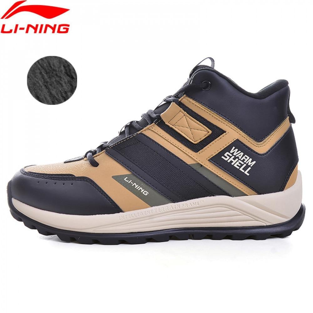 Li-Ning Men LN PIONEER Lifestyle Classic Shoes Warm Winter Fleece LiNing li ning WATER SHELL Sport Shoes AGCP147 YXB333