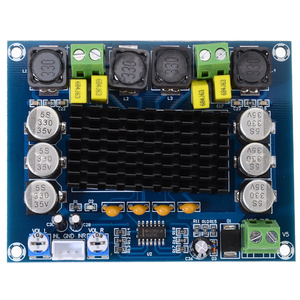 Image 2 - New TPA3116D2 Dual channel Amplifier Boards 2x120W High Power Digital Audio Power AMP Board DC 12 26V For Speaker