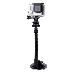 Image 1 - Ventouse en verre Action caméra Sport Cam trépied de montage pour voiture support de support de disque support pour Gopro Hero 7 6 5 Yi2 accessoires