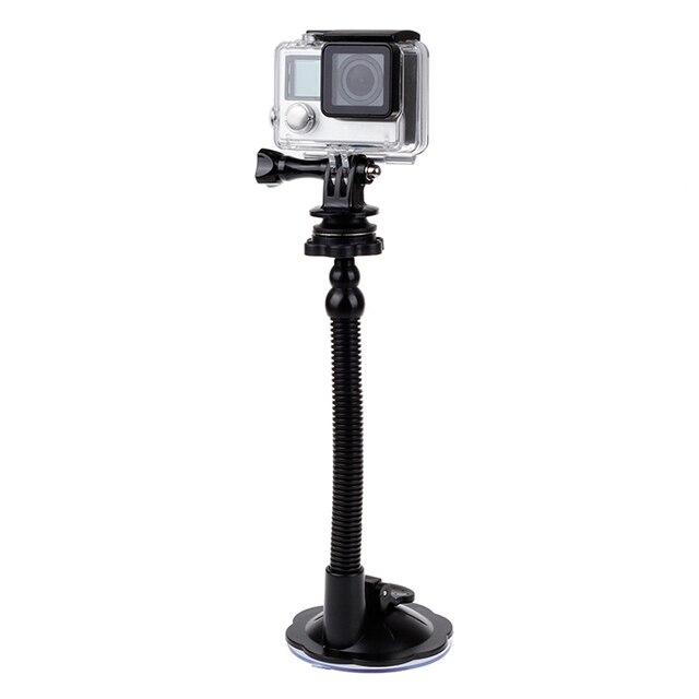 Ventouse en verre Action caméra Sport Cam trépied de montage pour voiture support de support de disque support pour Gopro Hero 7 6 5 Yi2 accessoires