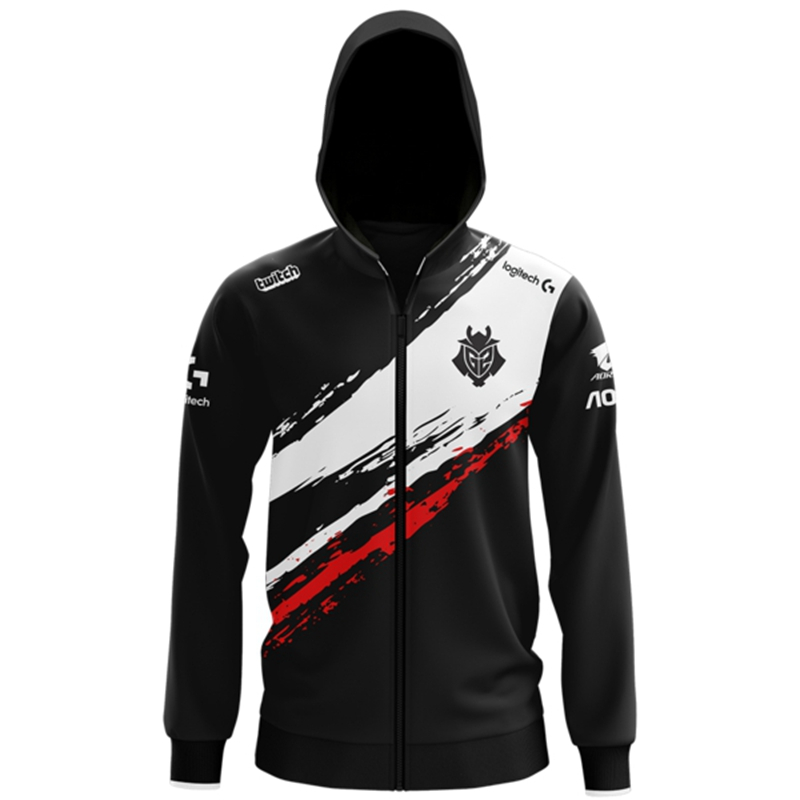 LOL League LEC G2 Esports Pro Player Hoodie Team Uniform Jersey Wunder Jankos Caps PerkZ Mikyx CSGO Game Major Jacket Coat