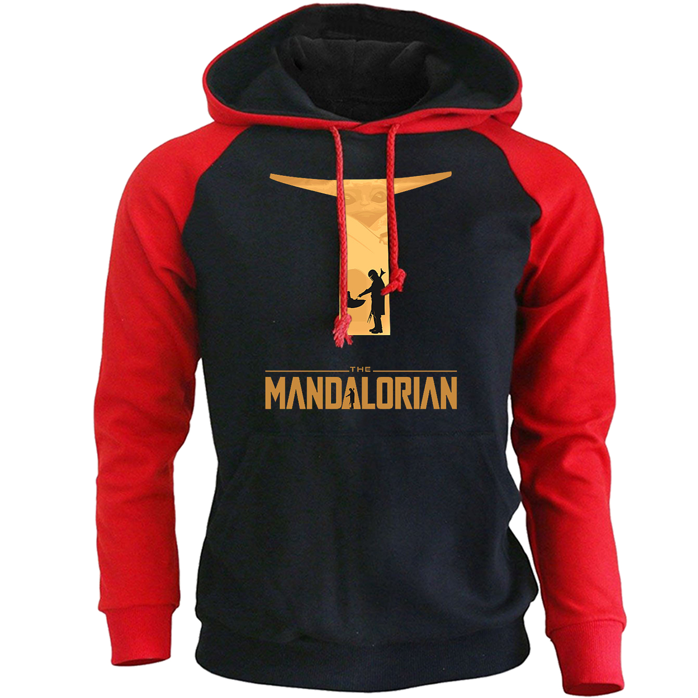 Star Wars The Mandalorian Hoodies Men Baby Yoda Sweatshirts Spring Autumn Casual Hooded Pullovers Streetwear Mens Sportswear