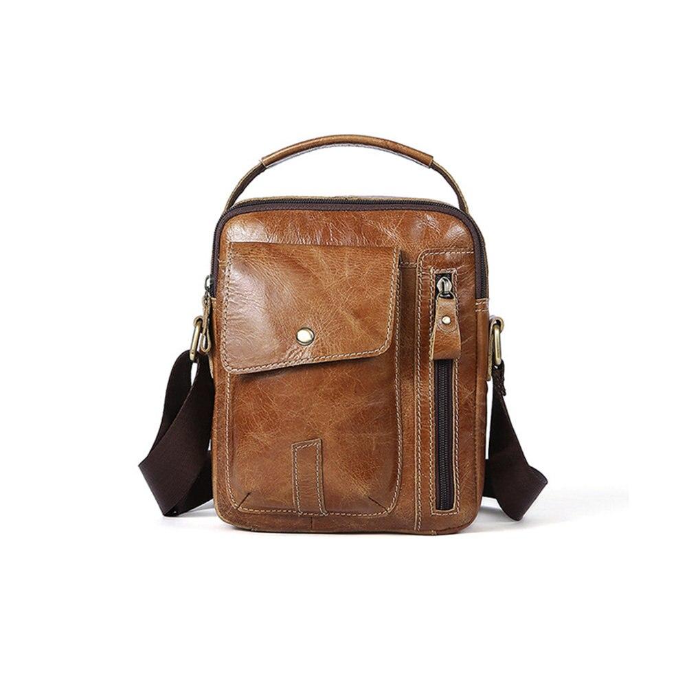 2020 Hot Men's Briefcase Bag Men's Cow Leather Laptop Bag Business Tote For Document Office Portable Laptop Shoulder Bag