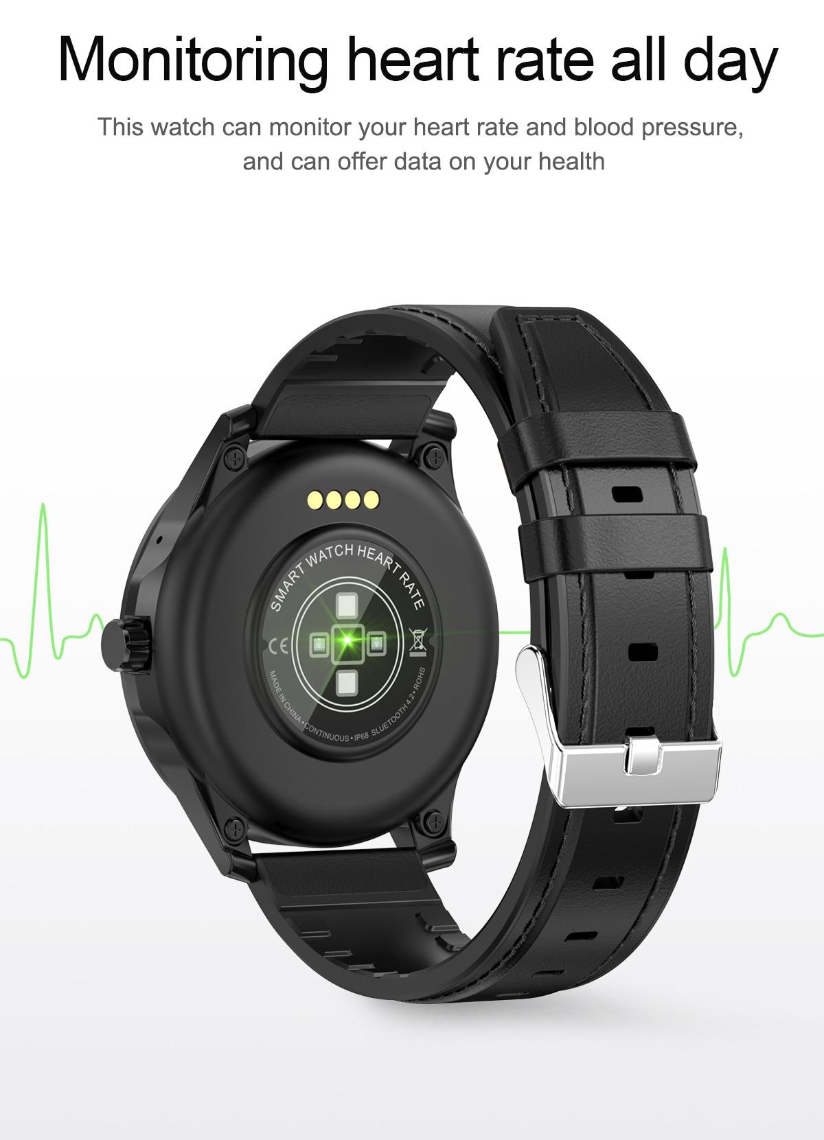Bluetooth relógio inteligente com música de armazenamento