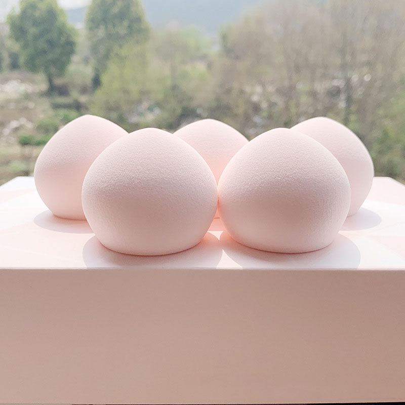 2 boxed not eat powder buns puff giant soft seconds bomb wet and dry dual-use sponge eggs non-latex cosmetic puff image
