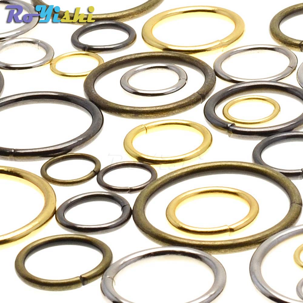 10 Metal D Rings Non-welded Curtains